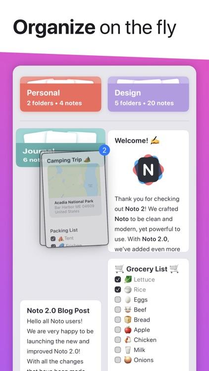 Noto - Elegant Note screenshot-3