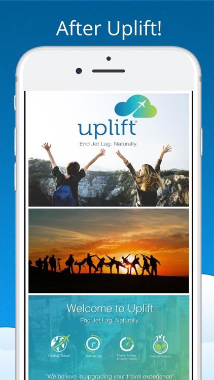 Uplift - Travel Without Jetlag screenshot-6