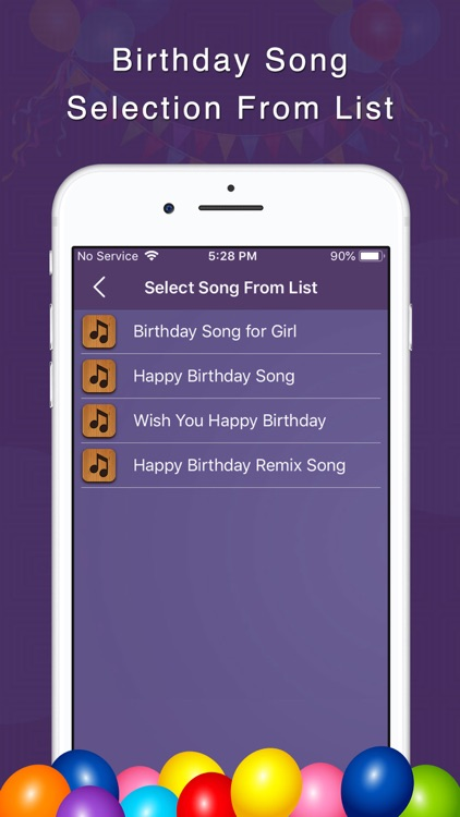 Birthday Song With Name Maker screenshot-5