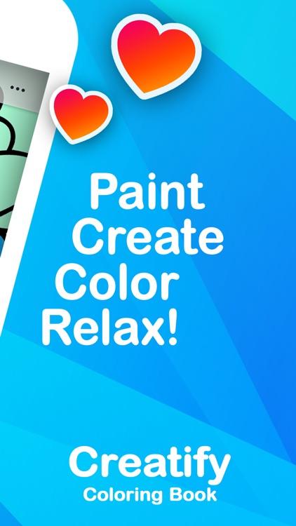 CREATIFY | Coloring Book Games screenshot-6