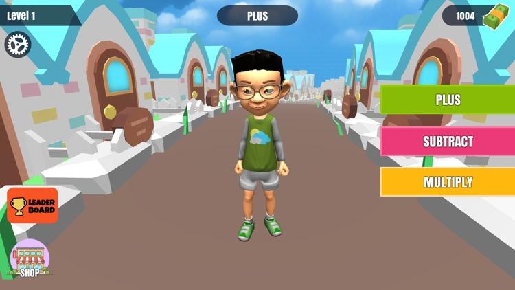 Run Math Runner – Solve Quiz screenshot-0