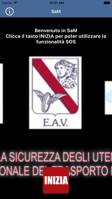 Screenshot of SAM - Sicurezza EAV2