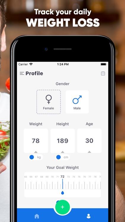 Diet Tracker, Weight Loss Plan screenshot-3