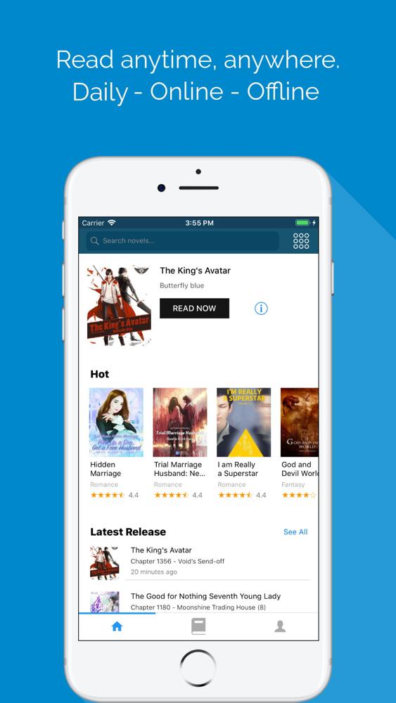 NovelFull - Read novel offline App for iPhone - Free