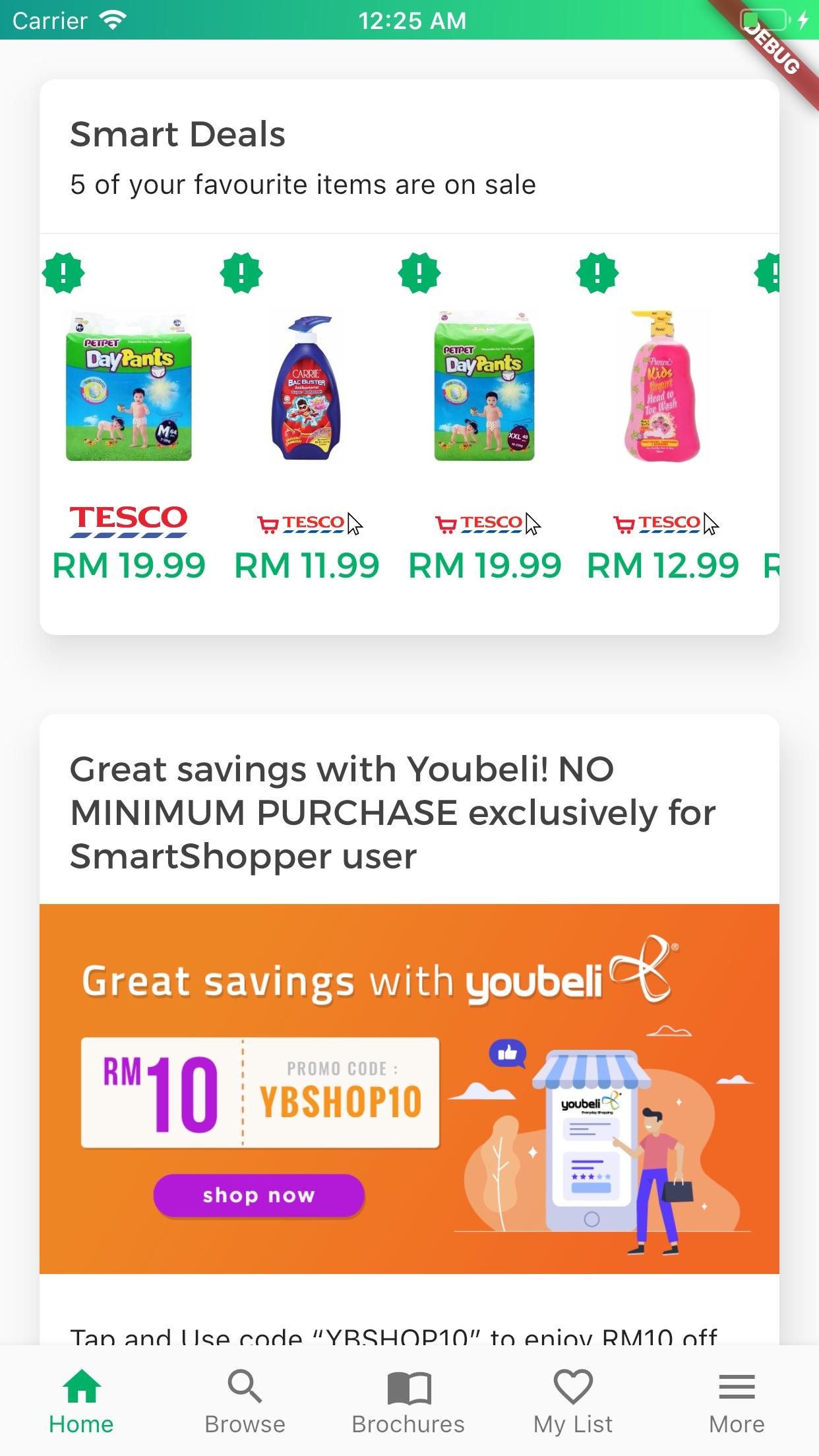 SmartShopper Malaysia Screenshot