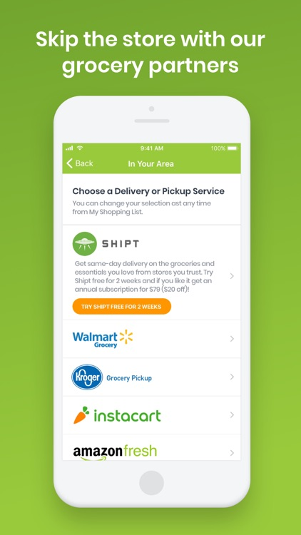 eMeals - Healthy Meal Plans screenshot-3