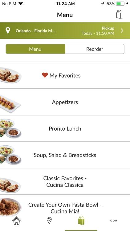 Olive Garden Italian Kitchen screenshot-3