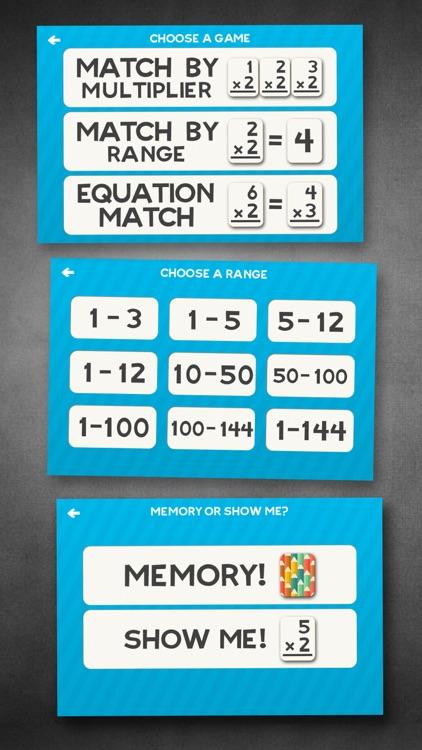 Multiplication Math Flashcards screenshot-3