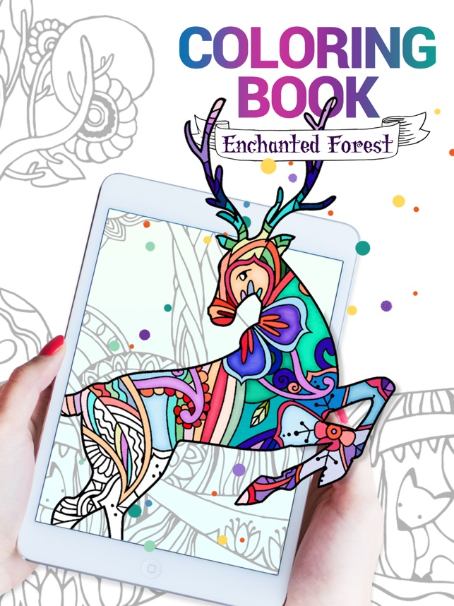 Coloring Book For Adults App • On The App Store