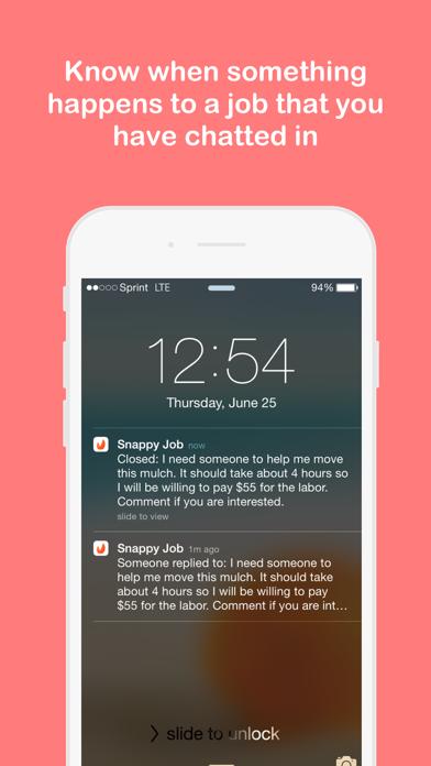 Snappy Job screenshot four