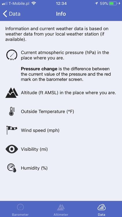 Barometer & Altimeter & Thermo screenshot-3