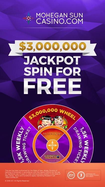 Mohegan Sun NJ Online Casino screenshot-0