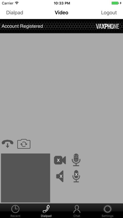 VaxPhone - SIP based softphone