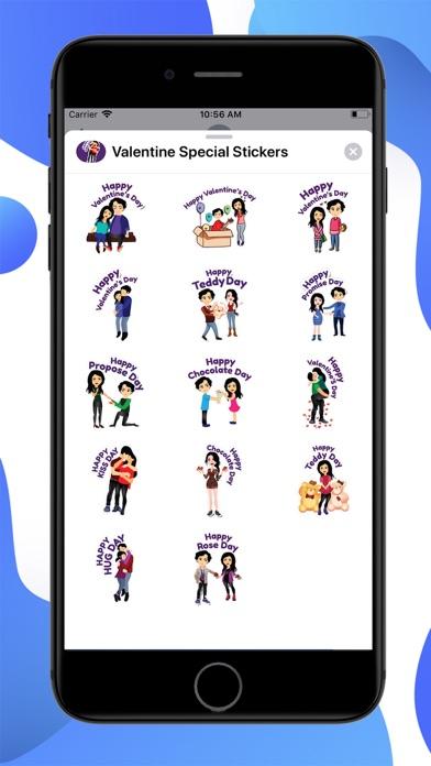 Valentine Special Stickers screenshot 1