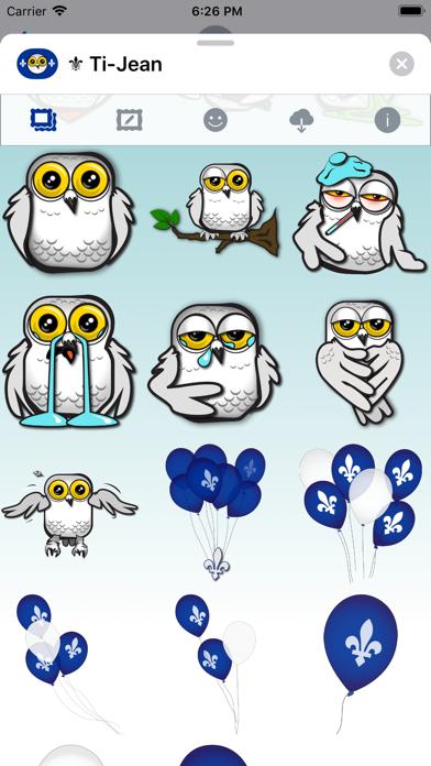 Ti-Jean Le Harfang • Stickers screenshot 4