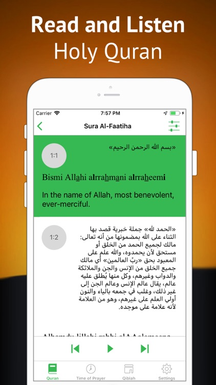 Quran in English & Arabic screenshot-0