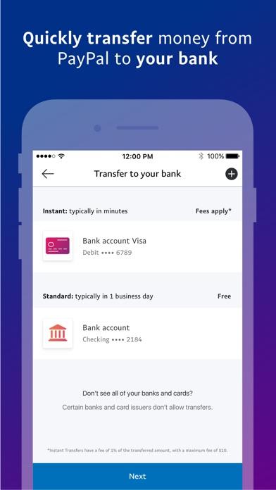 Paypal review screenshots