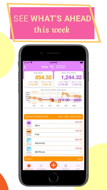 Track & Control Your Spending