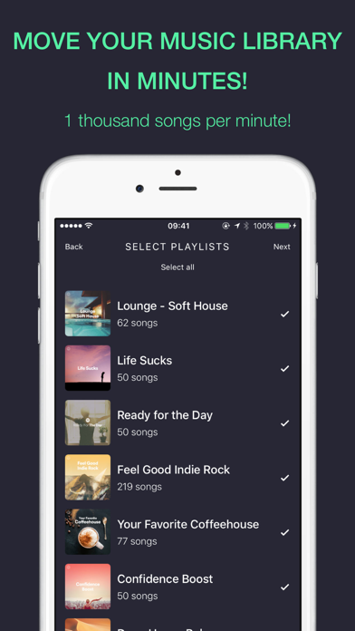 RELAY: Move your music library screenshot 1
