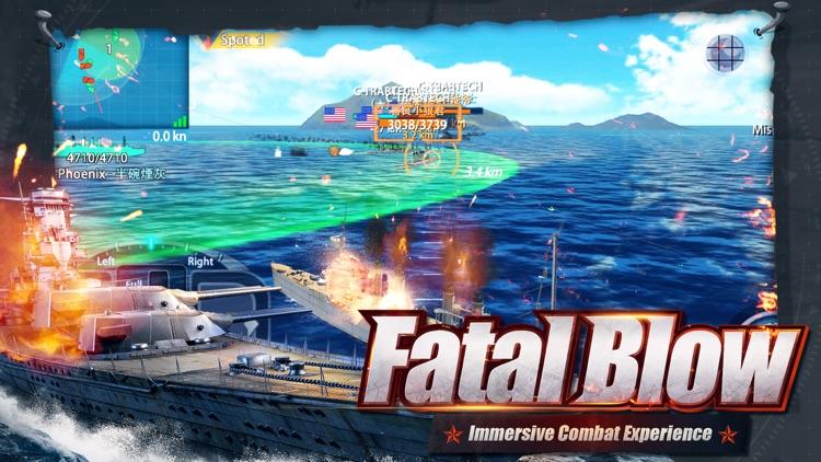 King of Warship: 10v10 Battle screenshot-3