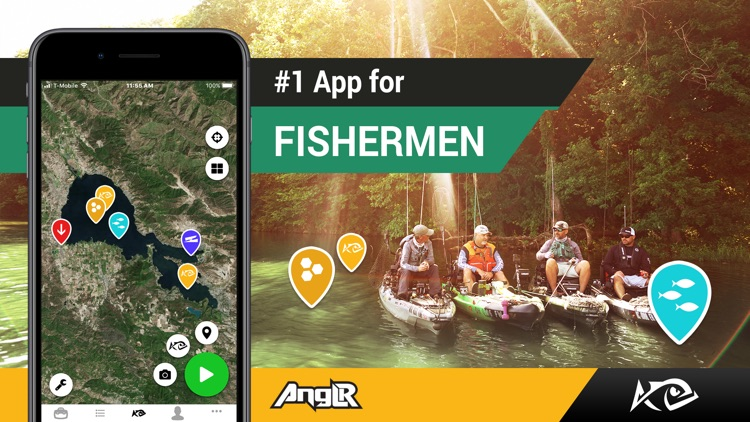 Fishing App: ANGLR Logbook