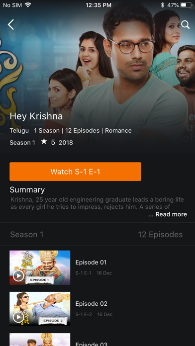 YuppTV - Live TV & Movies - App - iOS me