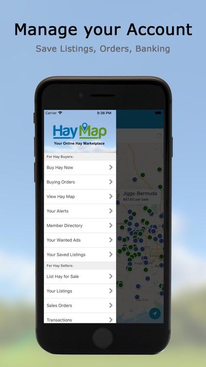 Hay Map - Buy & Sell Hay screenshot-3
