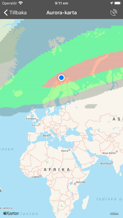 My Aurora Forecast Pro på PC