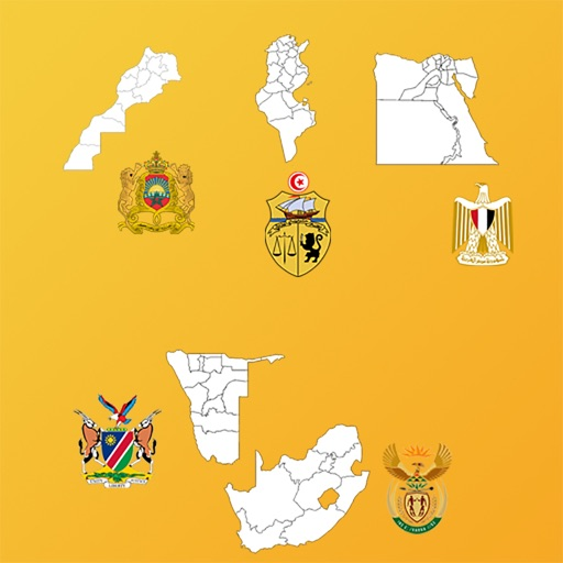 Africa Country's State Maps