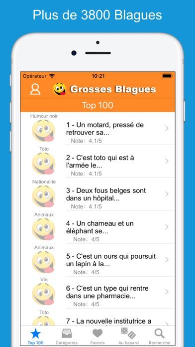 Screenshot #1 pour Grosses Blagues