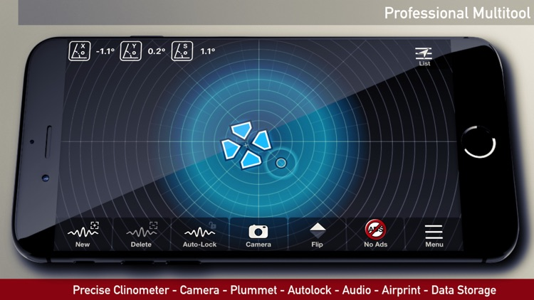 iLevel - Protractor and Level screenshot-1