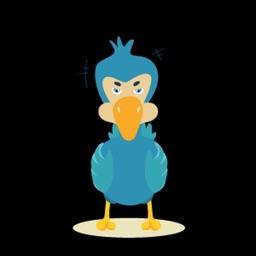 Duck Ugly Sticker