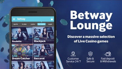 Betway- Live Casino & Roulette screenshot two