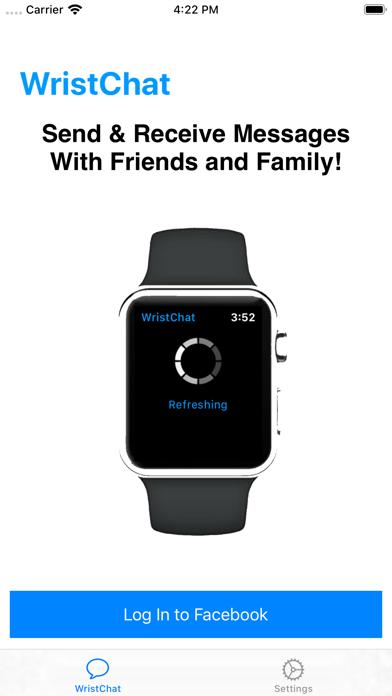 WristChat for Facebook screenshot 5