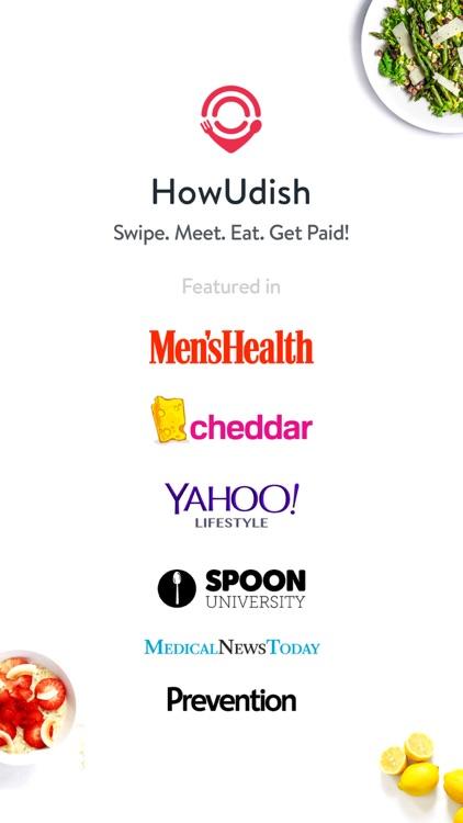 HowUdish: Food, Friends, Dates screenshot-0