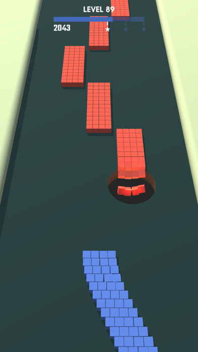 Holoo - Swallow every cube ! screenshot 3