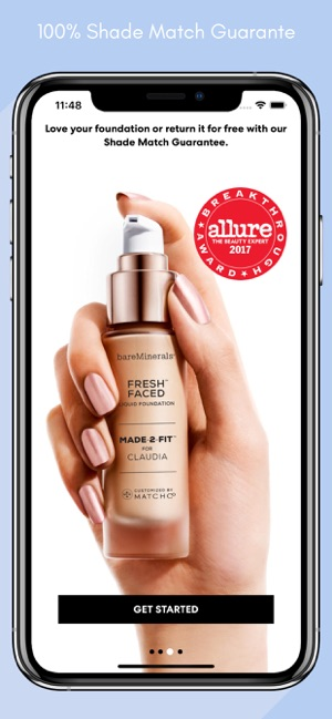 bareMinerals MADE-2-FIT Makeup on the App Store