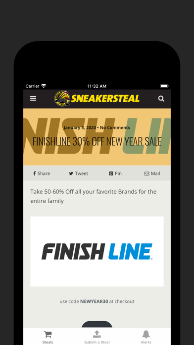 messages.download SNEAKERSTEAL software