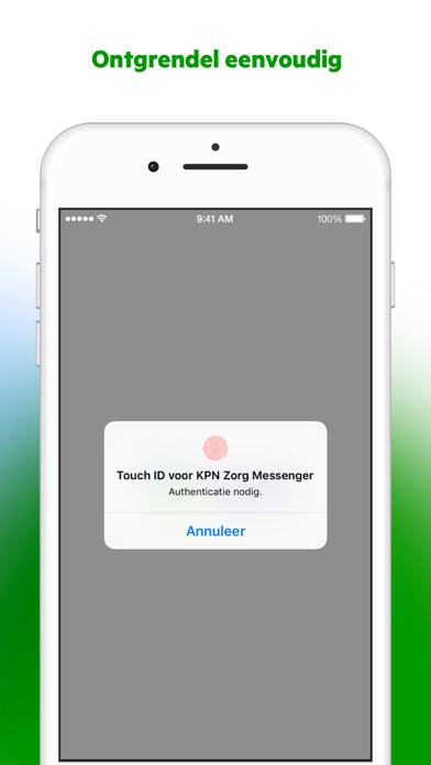 Zorg Messenger screenshot four
