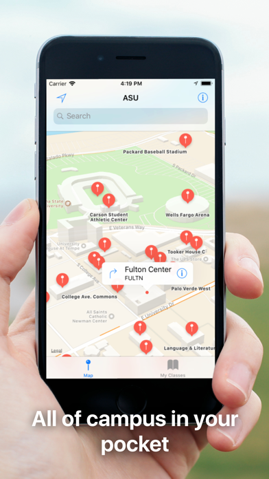 UniversityGO - Campus Maps Screenshot