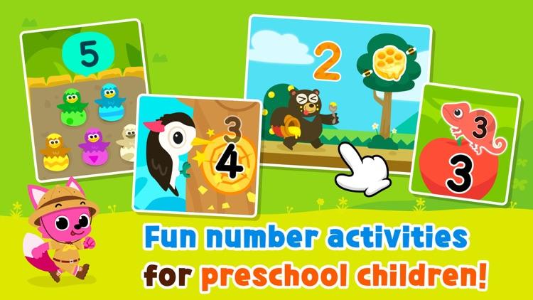 Pinkfong Numbers Zoo screenshot-0