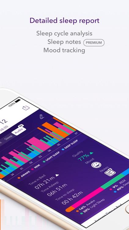 Pillow Automatic Sleep Tracker screenshot-3
