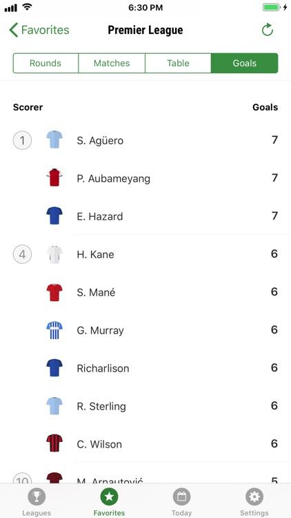 GoalAlert Football Live Scores screenshot-9
