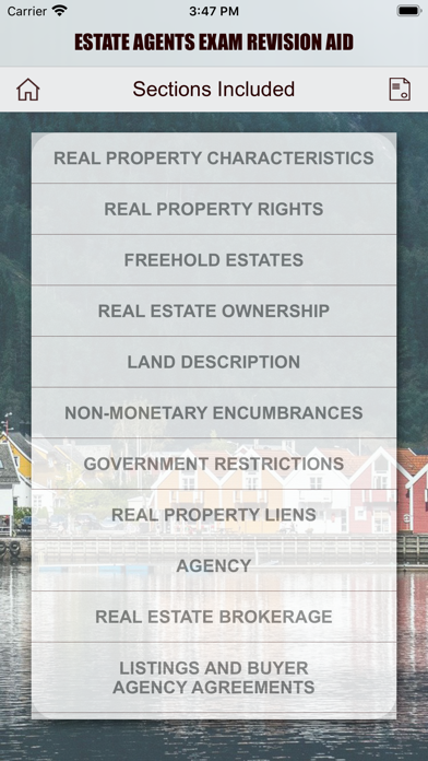 Estate Agents - Revision Aid screenshot 9