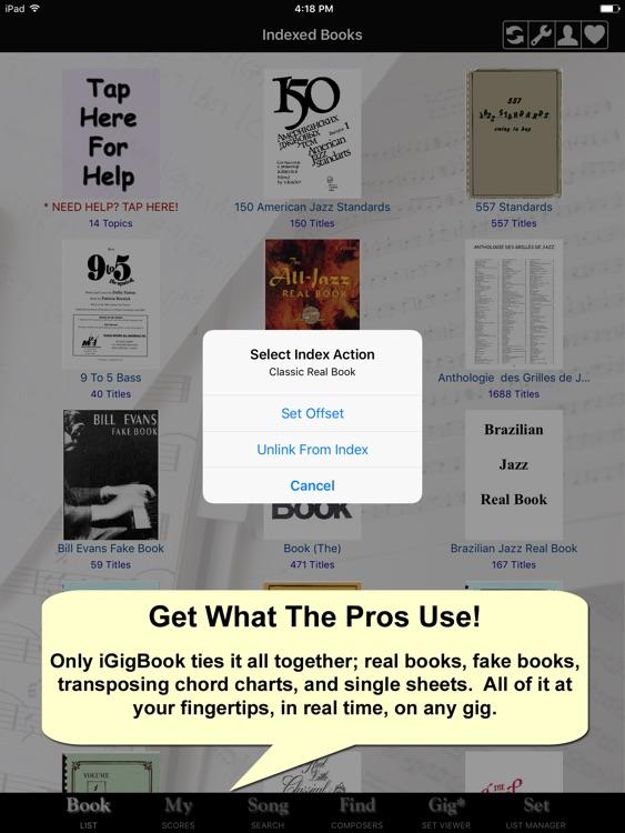 iGigBook Sheet Music Manager 7 screenshot-0