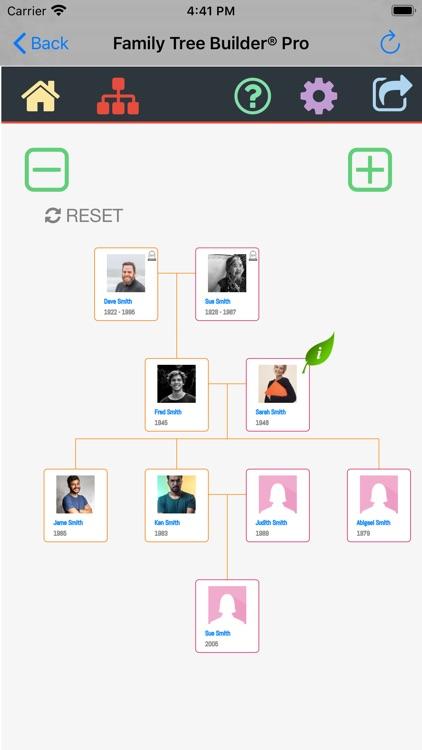 Family Tree Builder Pro
