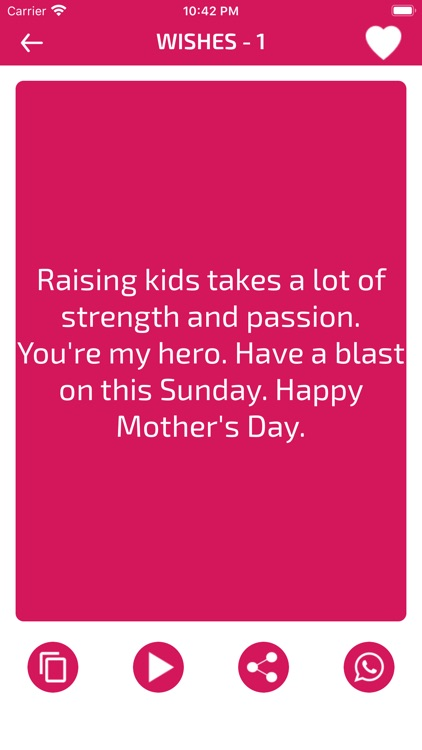 Mother's Day Wishes screenshot-4