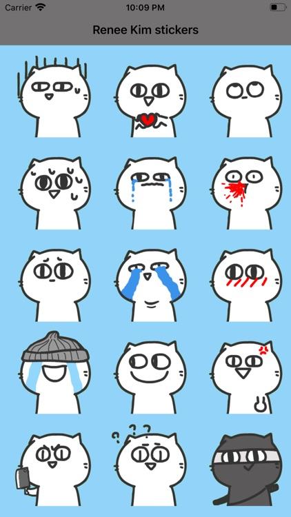 Renee Kim stickers
