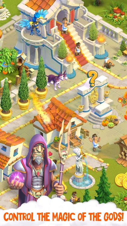 Divine Academy: Town Building