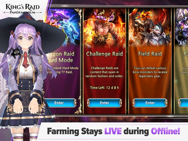 King's Raid on the App Store